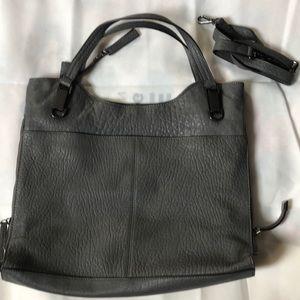 Vince Canute lamb leather tote handbag